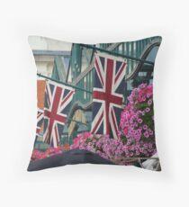 The Union Flag Throw Pillow