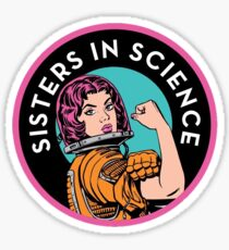 Sisters In Science Organisation Logo Sticker