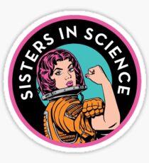 Pegatina Logotipo de la organización de las hermanas en la ciencia
