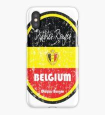 Football - Belgium (Distressed) iPhone Case/Skin