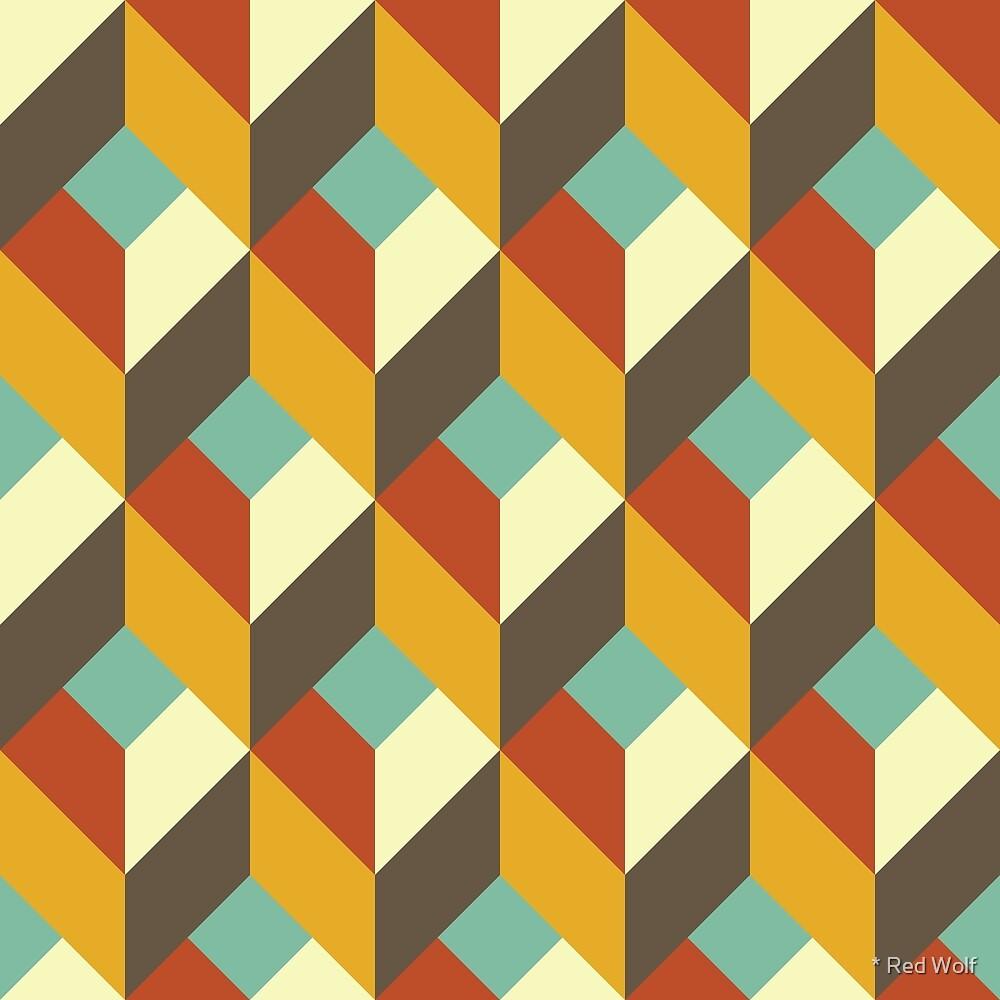 Geometric Pattern: Box: Fall by * Red Wolf