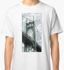 St. Johns Bridge Classic T-Shirt