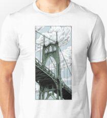 St. Johns Bridge Unisex T-Shirt