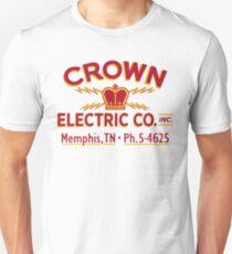 """""""Crown Electric Co. - Memphis"""" 1954  - Elvis' Truck Unisex T-Shirt"""