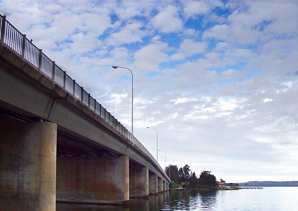 Gorokan bridge by adam pearson