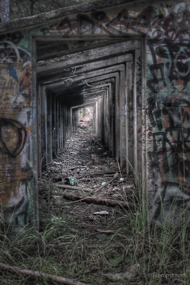 Light at the End of the Tunnel - HDR by Rempstaar