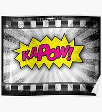 Comic KAPOW! Poster