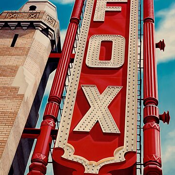 The Fox Theater by van1021