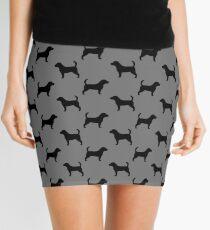 Beagle Silhouette(s) Mini Skirt