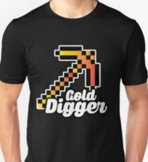 Minecraft - Gold Digger - Gamer Gift T-Shirt