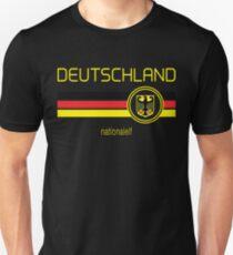 Euro 2016 Football - Germany (Away Black) Unisex T-Shirt