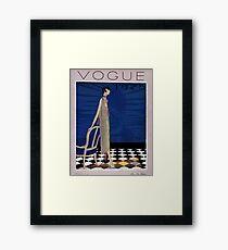 Vogue 1925  Framed Print