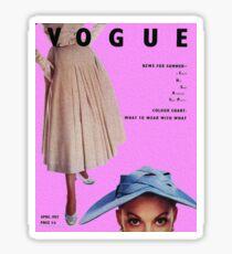 Vogue 1952 Sticker