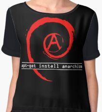 apt-get install anarchism  Women's Chiffon Top