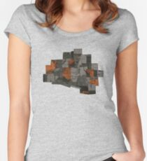 The Void 5 collage Women's Fitted Scoop T-Shirt