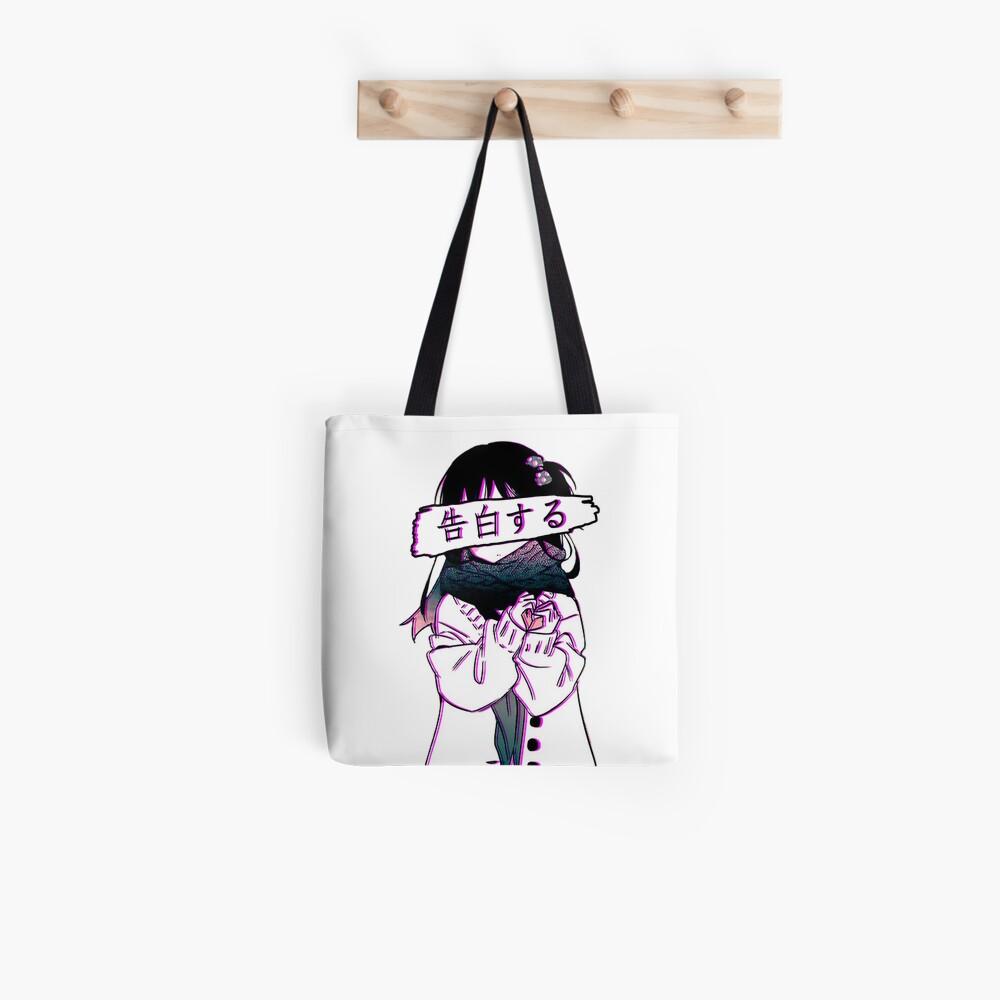 CONFESSION - Traurige japanische Ästhetik Stofftasche