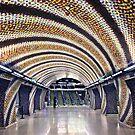 Szent Gellert Ter Metro Station - Budapest by Hercules Milas