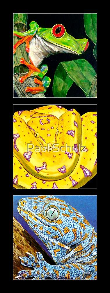 Reptile Triple by Paul Schulz