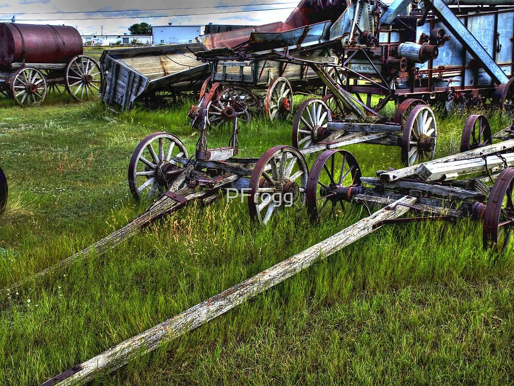 Wagon Bone Yard by PFrogg
