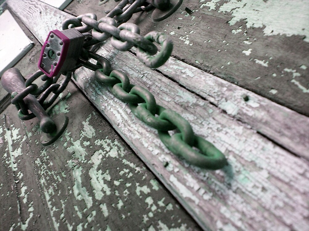 lock in chain by dannielle