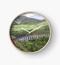 Glenfinnan Viaduct Scotland Clock