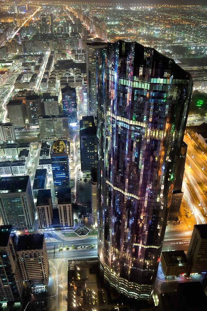 Nighttime in Abu Dhabi by josefholmes