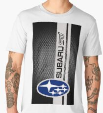Subaru Sti Logo Men's Premium T-Shirt