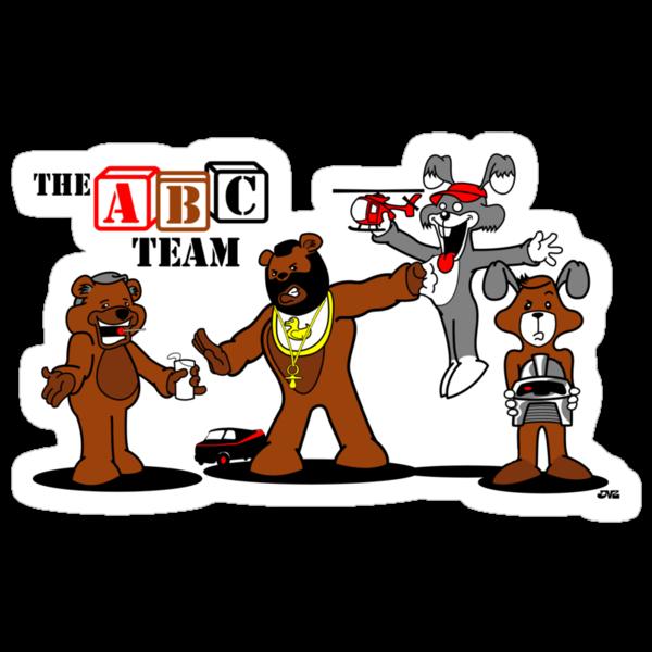 The ABC Team by jayveezed