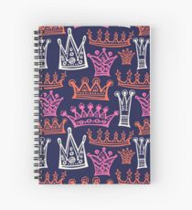 Beautiful  royal crowns.  Spiral Notebook