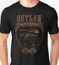 Outlaw Country Americana. Armadillo con guitarra T-Shirt
