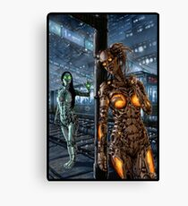 Cyberpunk Painting 045 Canvas Print