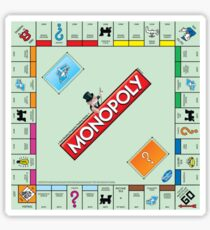 Monopoly Board Sticker