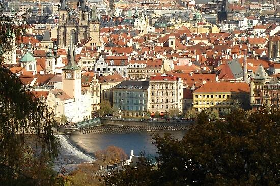 view of Prague, Bohemia by chord0