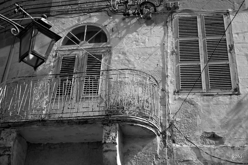 old maltese balcony by keki