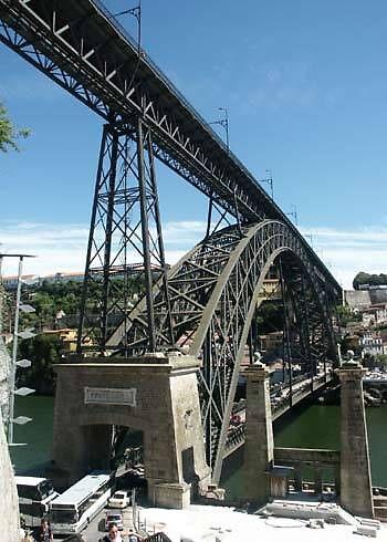 Porto bridge, Portugal by chord0