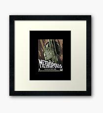 Metropolis - Movie Poster, Retro, Vintage Framed Print