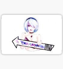 Rip OFF Sticker