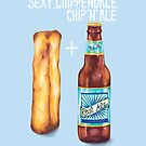"Sexy Chip 'N"" Ale by AmandaDilworth"