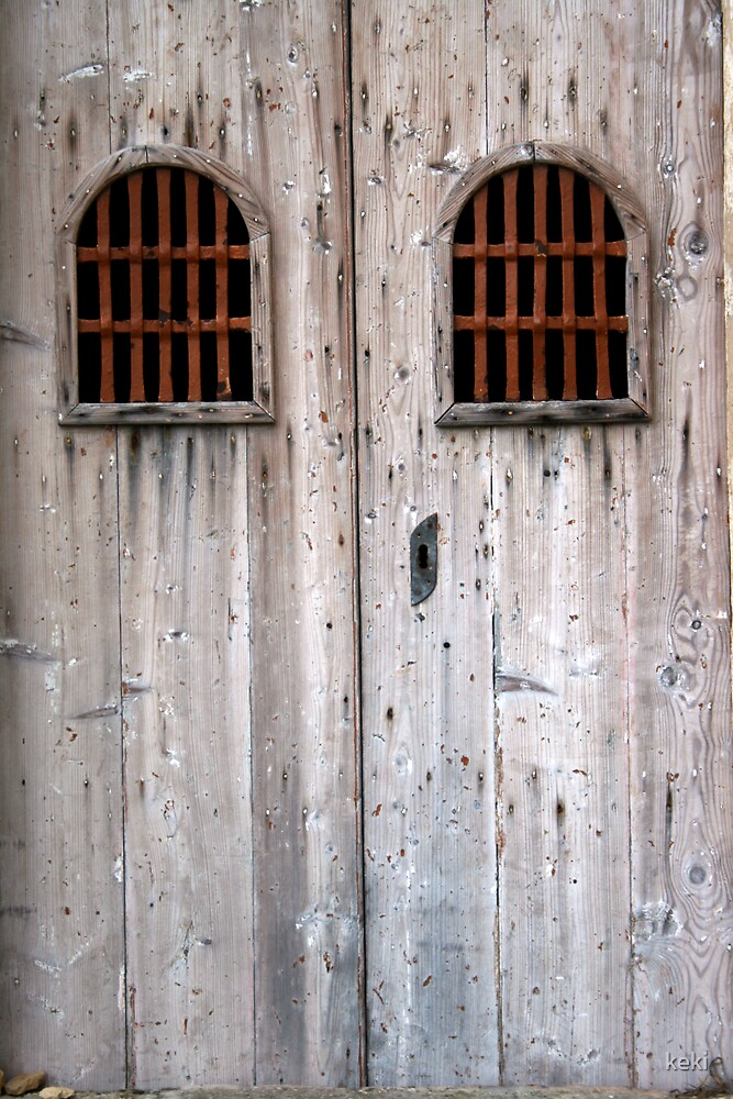 Old church door by keki