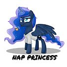 Princess Luna - NAP PRINCESS by Raspberry Studios