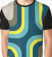 Mid Century Square Pattern #3 Graphic T-Shirt