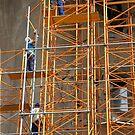Gaudi's Workmen by phil decocco