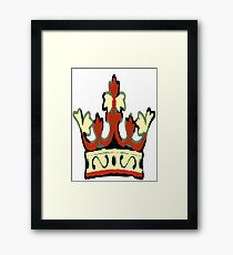 Koi FURY logo Framed Print