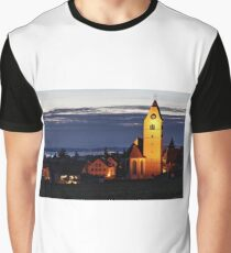 Church of Hagnau - Lake Constance Graphic T-Shirt