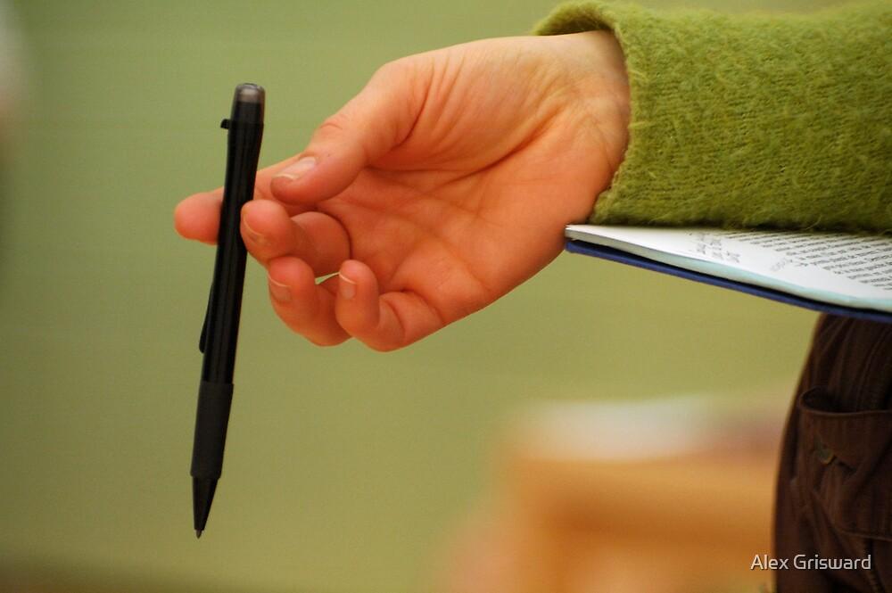 La Main et le stylo by Alex Grisward
