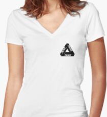 The Palace Women's Fitted V-Neck T-Shirt