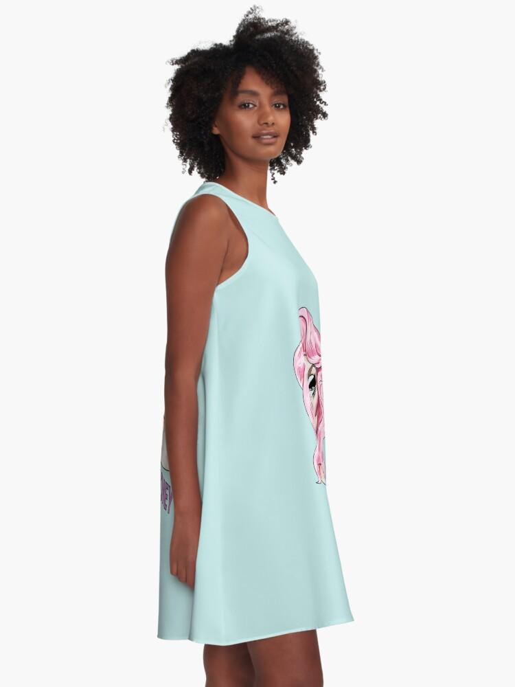 Alternative Ansicht von Trixie Mattel A-Linien Kleid