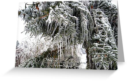 frozen needles by LoreLeft27