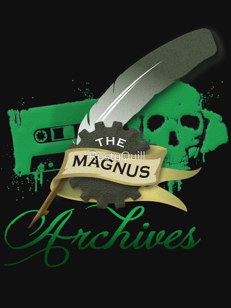 Das Magnus Archiv Logo von RustyQuill