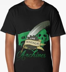 The Magnus Archives Logo Long T-Shirt